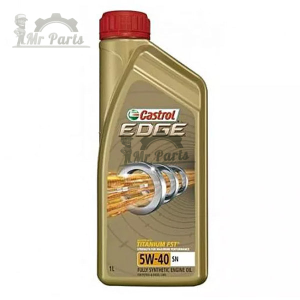 Castrol Edge 5W-40 SN Fully Synthetic Engine Oil - 1 Litres