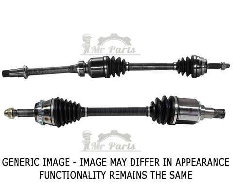 Complete Front CV Axle Drive Shaft V6 Engine, fits 2003-2006 Toyota Highlander AWD