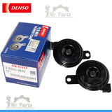 DENSO OEM Electric Horn Power Tone 272000-2650 ND-012 0026, Flat Shaped