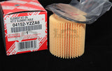 Toyota Genuine OEM Oil Filter 04152-YZZA6