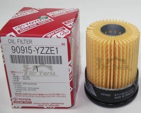 Toyota Genuine OEM Oil Filter 90915-YZZE1