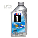 Mobil 1 5W-30 High Mileage Fully Synthetic Engine Oil, 1 Quart