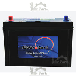 Everstart 75Ah 12V 550A (CCA) Battery  - Flat