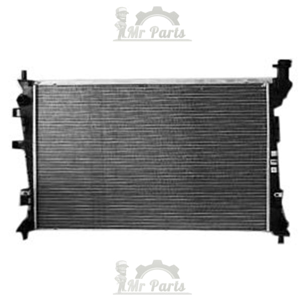 Double Cell Double Fan, Bosch Plastic Aluminum Radiator - Ford Focus (Fairly Used)