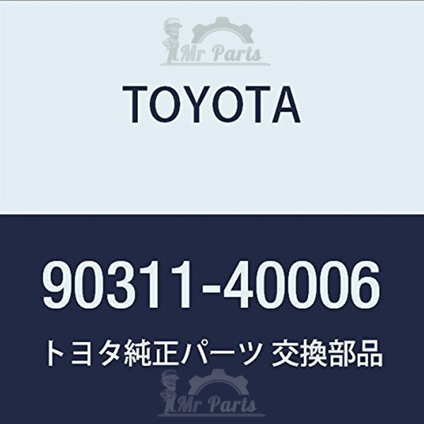 Toyota 90311-40006 Oil Pump Seal