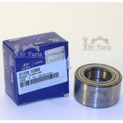 Genuine HYUNDAI 51720-1C000 Front Wheel Hub Bearing, fits 2011-2017 Hyundai Accent