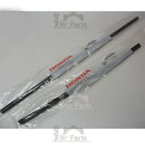 2007-2011 Honda CR-V OEM Front Windshield Wiper Blades 76620-SWA-A01 & 76630-SWA-A01  - Set of 2