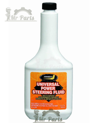 Johnsen's 2912 Universal Power Steering Fluid - 12 FL. OZ. / 355 ml