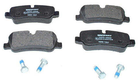 BRITPART Land Rover Front Brake Pad Kit (LR019618/SDB500614) for LR3, Range Rover and Sport