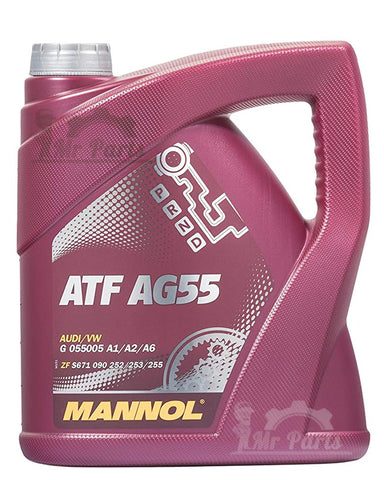 MANNOL ATF AG55, Automatic Transmission Fluid - 4 Litres