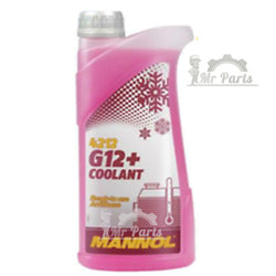 MANNOL G12+ RED Coolant Antifreeze Antirust Ready Mixed, 1 Litre