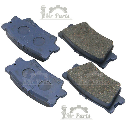 Genuine Toyota (04465-0E010) Front Brake Pad Kit, fits 2008-2013, and 2016 TOYOTA Highlander