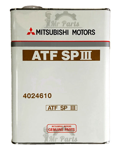 Mitsubishi Automatic Transmission Fluid ATF SP-III, 4024610 - 4 Litres