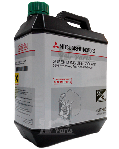 Mitsubishi Super Long Life Coolant 4-Litres