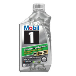 Mobil 1 0W-20 Advanced Full Synthetic Engine Oil, 1 Quart