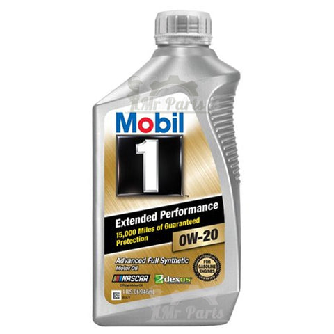 Mobil 1 0W-20 Extended Performance Synthetic Engine Oil, 1 Quart
