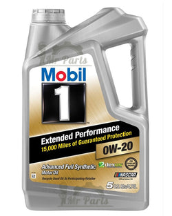 Mobil 1 0W-20 Extended Performance Synthetic Engine Oil, 5 Quarts