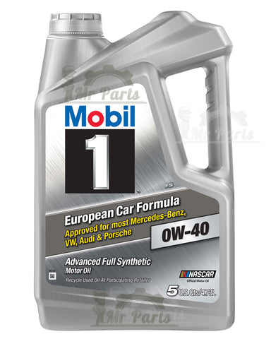 Mobil 1 0W-40 Advanced Full Synthetic Engine Oil, 5 Quarts