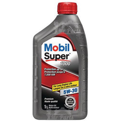 Mobil Super 5W-30 Synthetic Blend Engine Oil, 1 Quart 5w30