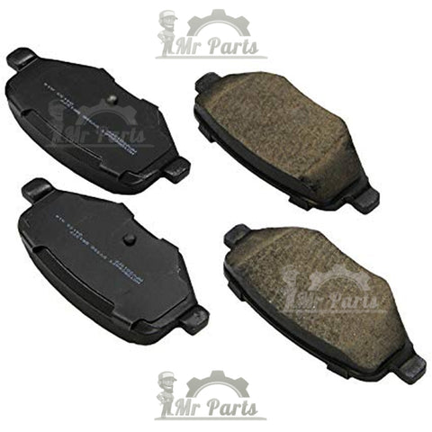 Motorcraft BR-1377B - Standard Premium Ceramic Rear (Disc) Brake Pad Kit, for Ford Edge, Explorer, Flex, Taurus, Lincoln MKS, MKT, MKX