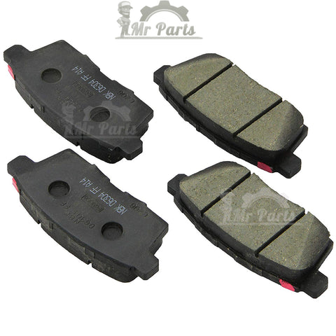 Motorcraft NBR-1259 - Standard Premium Organic Rear (Disc) Brake Pad Kit, for Ford Edge 2007-2010, Lincoln MKX 2007-2010