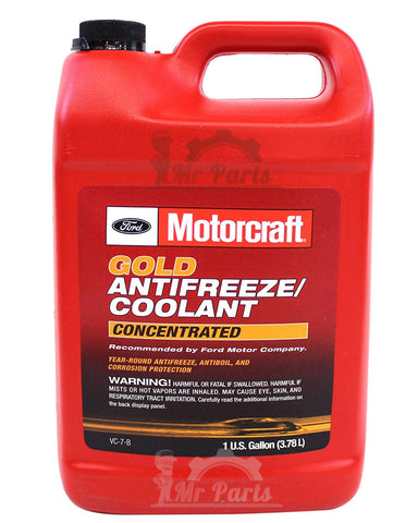 Genuine Ford Motorcraft® Gold Antifreeze/Coolant Concentrated, VC-7-B, 4 Litres