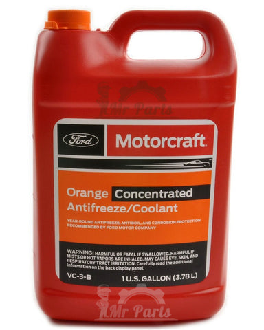 Genuine Ford Motorcraft® Orange Antifreeze/Coolant Concentrated, VC-3-B, 4 Litres