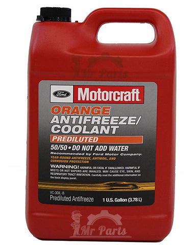 Genuine Ford Motorcraft® Orange Antifreeze/Coolant Prediluted, VC-3DIL-B, 4 Litres