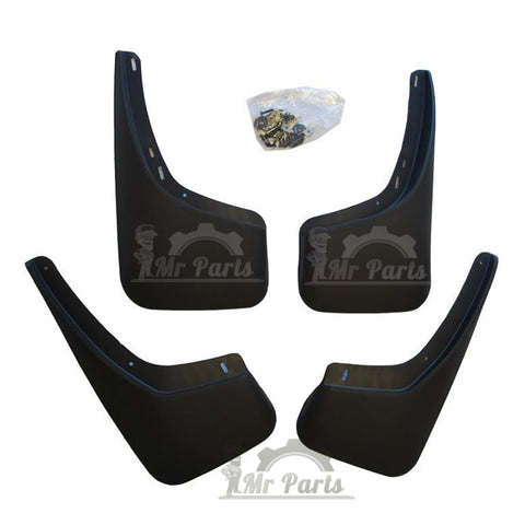Mud / Splash Guards for Toyota Corolla 2003 - 2008 (Does NOT fit a Sport Model, with side skirt)