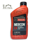 Ford Motorcraft Mercon LV Automatic Transmission Fluid and Power Steering Fluid  XT-10-QLVC - 1 Quart / 0.97 Litres