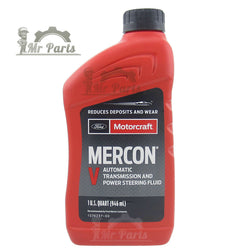 Ford Motorcraft Mercon V Power Steering Fluid - 1 Quart / 0.97 Litres