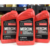 Ford Motorcraft Mercon V Automatic Transmission Fluid and Power Steering Fluid - 1 Quart / 0.97 Litres