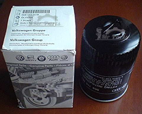 Volkswagen Audi Skoda OEM Oil Filter, 068-115-561-B, Golf 6