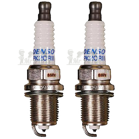 Denso PK20R11 Double Platinum Spark Plug, Pack of 2 - 14mm Thread