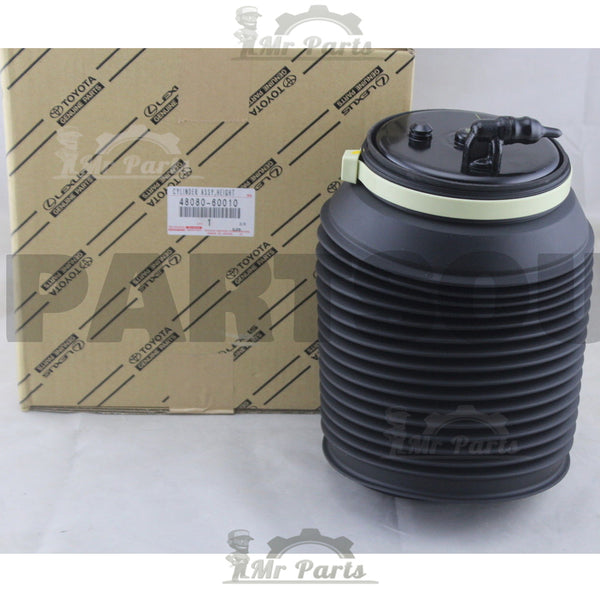 Genuine OEM Toyota Cylinder Assy, Pneumatic (Air Spring Bag), Rear Right Suspension 48080-60010, Fits Lexus GX460 2010-2013