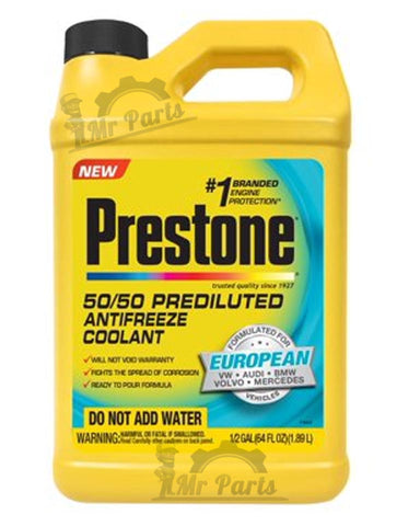 Prestone Super Long Life Coolant (50/50 Pre-Diluted) 3.78-Litres for BMW,