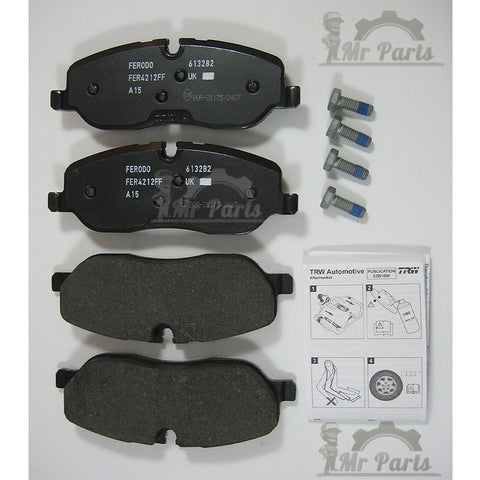 Genuine OEM Land Rover (LR019618) Front Brake Pad Kit for LR3, Range Rover and Sport