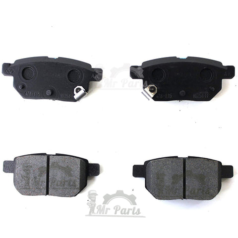 Genuine Toyota ( 04466-12150 / 04466-02310 ) Rear Brake Pad Kit, fits 2009-2019 Corolla, 2009-2014 Matrix, 2008-2015 Scion xB