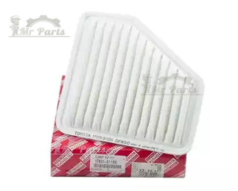 Toyota Denso 17801-31120 Engine Air Filter, fits 2007-2011 V6 3.5L Camry, 2006-2012 RAV4
