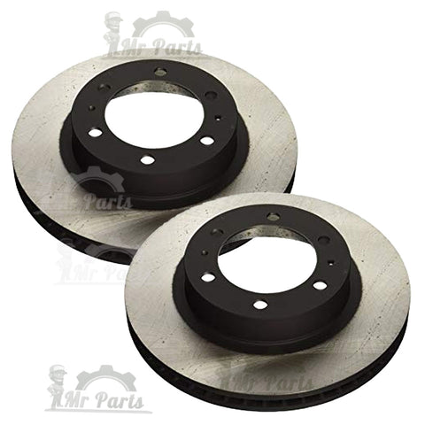 Genuine Toyota Lexus OEM 43512-06150, Front Brake Disc Rotors (Set of 2), fits 2007-2018 Avalon, 2007-2017 Camry, 2016-2018 Lexus ES350