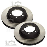 Genuine Toyota Lexus OEM 43512-33130, Front Brake Disc Rotors (Set of 2), fits 2007-2011 Camry