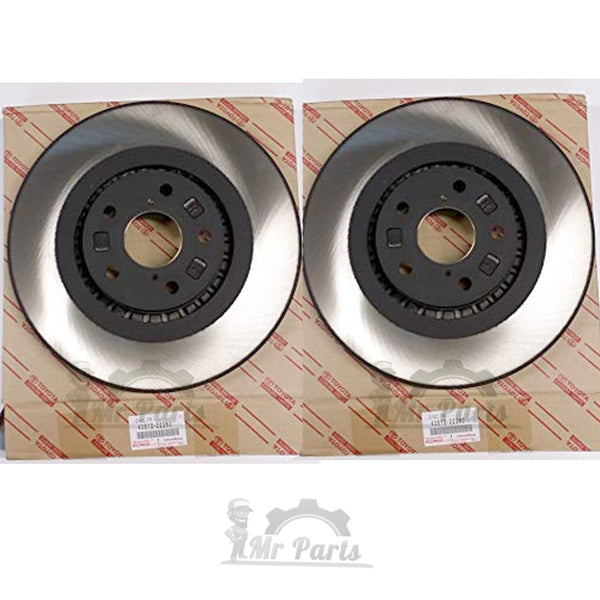 2005 2006 Fit Toyota Camry 4Cyl OE Replacement Rotors M1 Ceramic Pads F