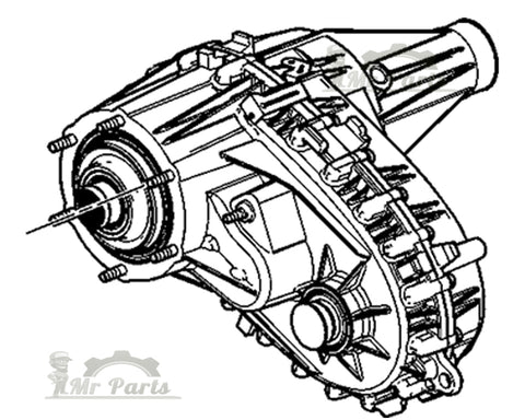 GM 24246762 Complete Transfer Case Assembly, Manual