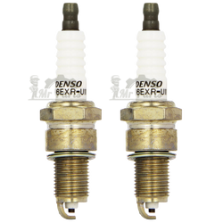 Denso W16EXR-U11 Standard Copper Spark Plug, Pack of 2