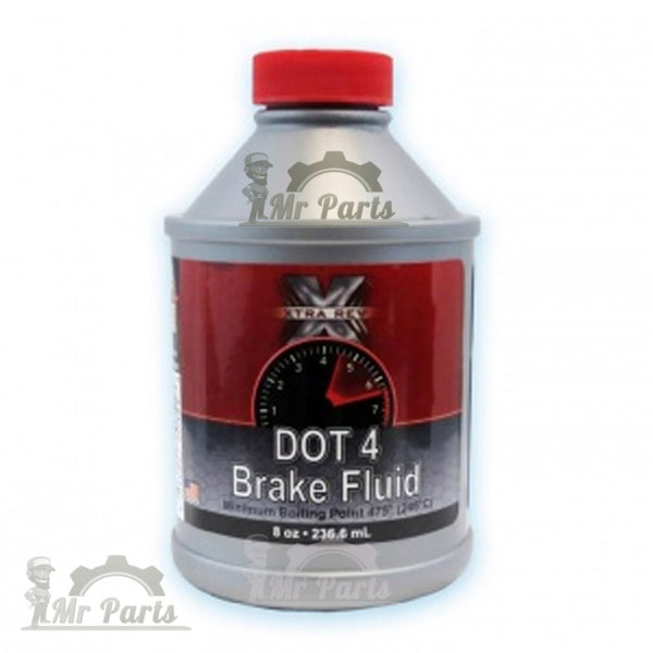 XTRA REV Synthetic DOT-4 Brake Fluid - 236.6 ml / 8 Oz