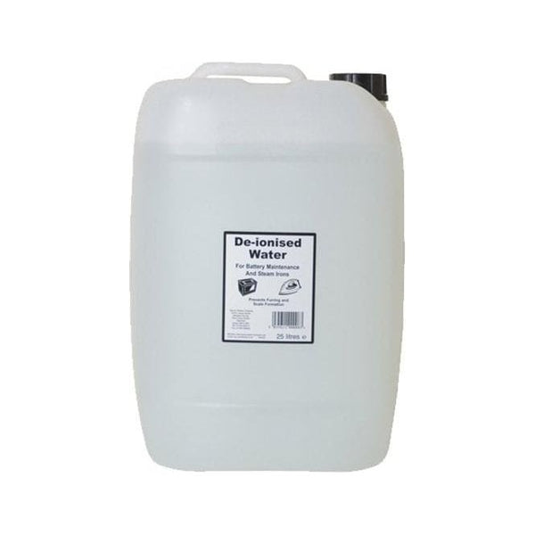 Distilled Water, 25 Litre Gallon