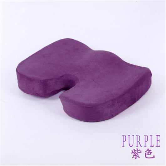 Orthopedic Memory Foam Seat Pad - Excellent Relief For Back Pain - 01 / 46 X 36 X 7Cm