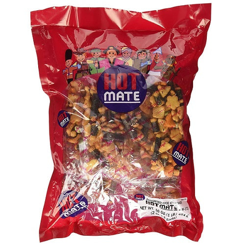 RICE CRACKER HOT MATE MIX ARARE 16OZ SK