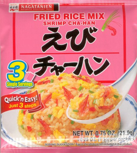 FRIED RICE MIX EBI/SHRIMP NAGATANIEN