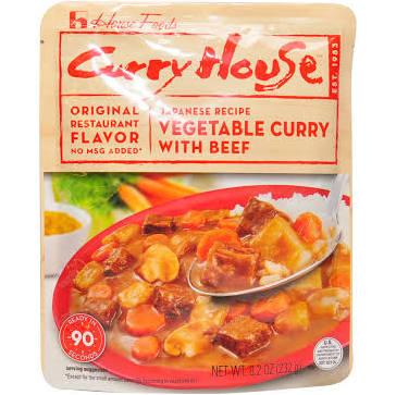 Curry House Retort Beef 8.2oz House